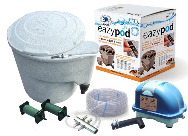 Filtro estanque eazy pod air con bomba de aire 70 l min for Filtro estanque koi