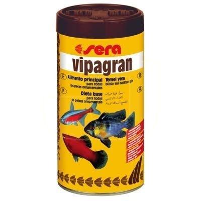 Sera vipagran aquarium fish food 250ml granulated of easy for Sera aquarium