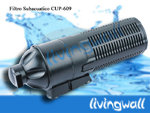 Underwater pond filter with UV lamp CUP-609