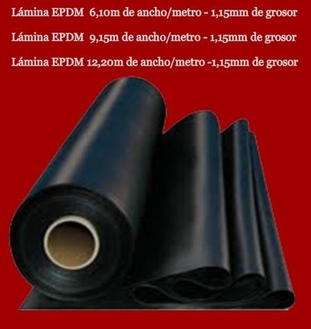 Lamina epdm estanques precios juegos de maquinaria for Estanque de plastico precio