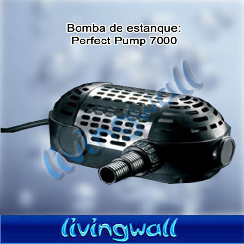 Bomba agua evolution aqua perfect pump 7000 sumergible for Bomba agua estanque