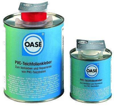 Pegamento en lata lona pvc oase construccion de estanques for Plastico pvc para estanques
