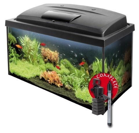 Fish tank 60x30x30 set 54l aquarium fish tank standard for Fish tank sets
