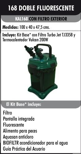 Acuario kit aqualight 168l filtro exterior acuarios baratos for Acuarios baratos
