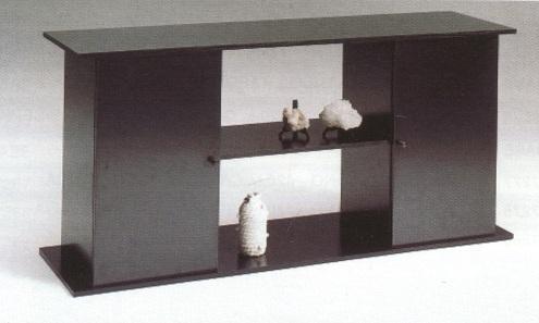Mueble para acuario 120cm negro mesa acuarios for Mueble acuario