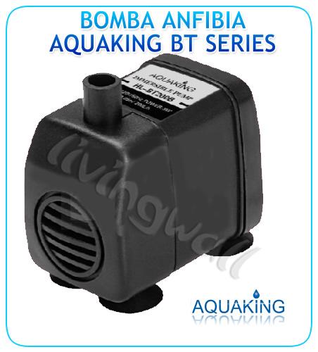 Bomba De Agua Aquaking Bt 200b Anfibia Acuario Y Fuentes