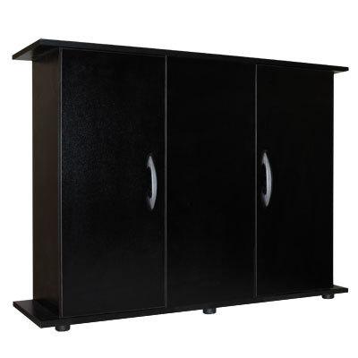 Mesa mueble acuario color negra 100cm madera aglomerado for Mueble acuario