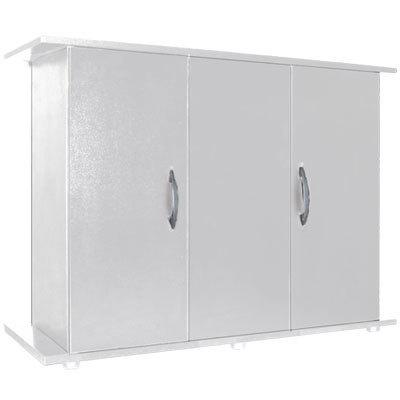 Mesa mueble acuario color blanca 120cm madera aglomerado