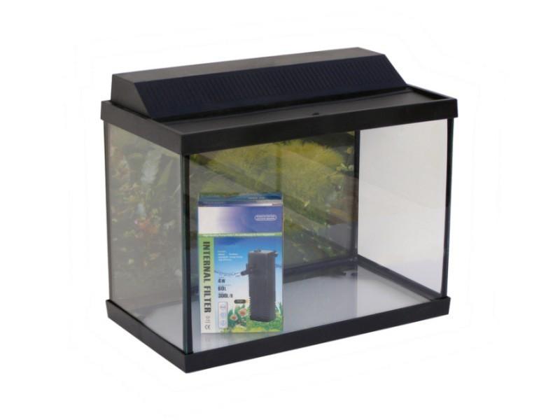 Kit acuario aquapor eco 15 litros luz filtro for Acuario 90 litros