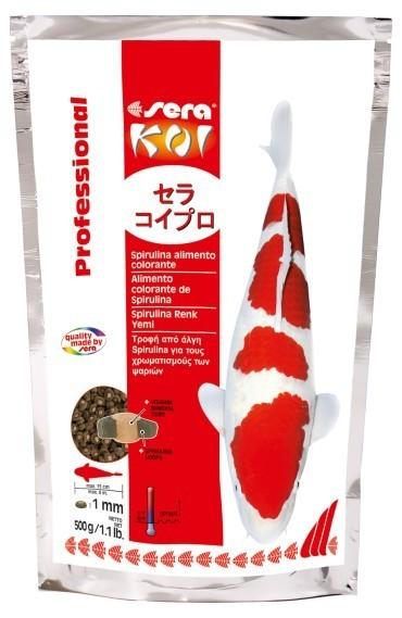 Sera KOI Professional Spirulina food coloring