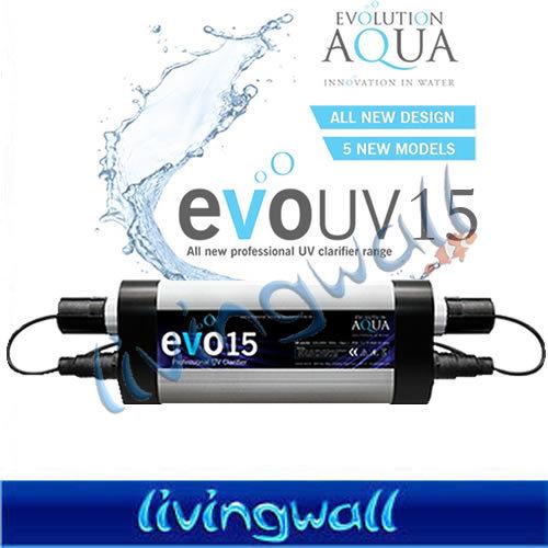 Clarificador uv evo l mpara uv desde 15w evolution aqua for Lampara uv estanque