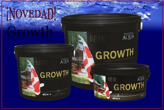 Comida koi estanque evolution agua bio mosgrowth for Comida para koi