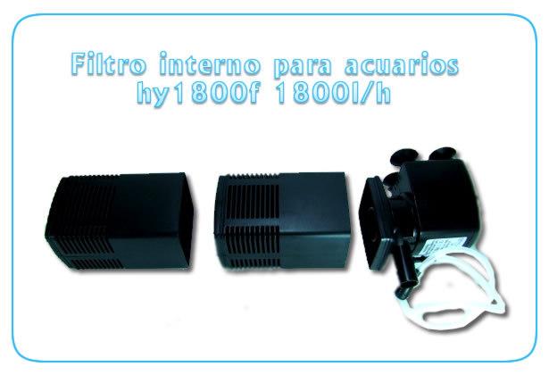 Filtro interno hy1800f acuarios gran caudal for Acuarios baratos