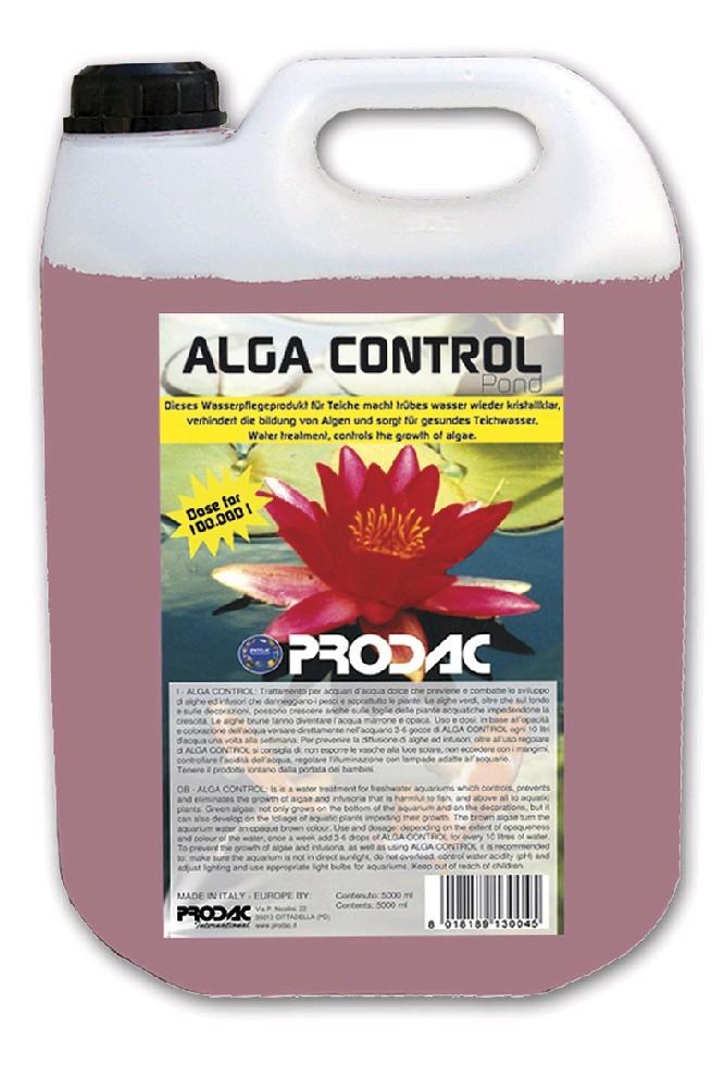 Algas controle pond 5 litros prodac anti aq a verde for Agua verde estanque