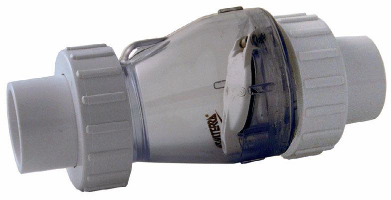 V lvula anti retorno 63mm solvente v lvula de control for Valvula anti retorno