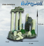 Aquarium decoration: Medium Greek Ruins LW-KB065