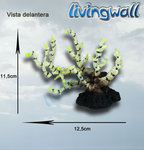 Decoration aquarium : white-black Coral LW-KA315