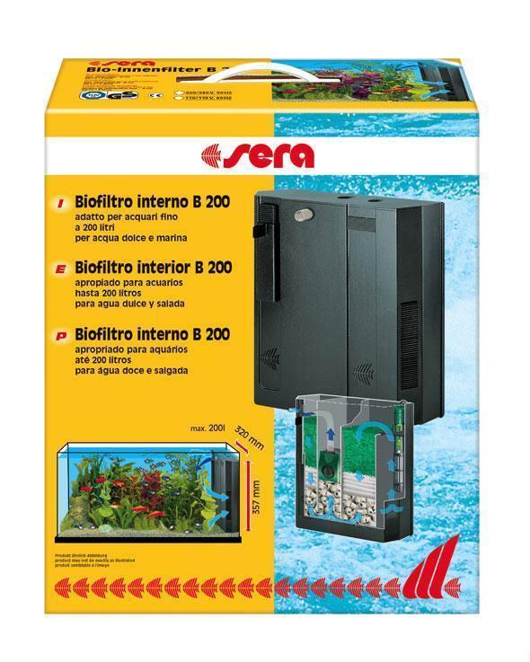 Filtro interno sera b200 biofiltros interiores b filtro for B b interno 8