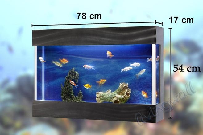 acuario de diseo livingwall lw negro