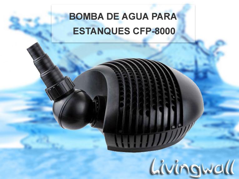 Bomba De Agua Cfp 8000 Para Estanques Potencia De 70w 8000l