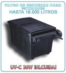 Aquaking Filter Box 210L 36W UVC for ponds