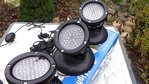 Pond Illumination Aquaking Set 3 spotlights Led 60 4W