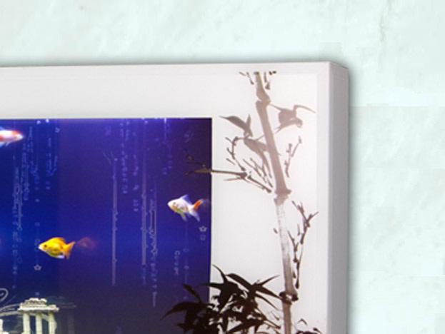 acuario de diseo livingwall lw white luna