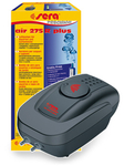 "SERA double aquarium air pump with 2 air outlets + Sera air set ""M"""