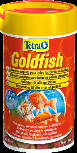 Comida peixes tetra goldfish 2 x100ml safetabs para for Alimento para goldfish