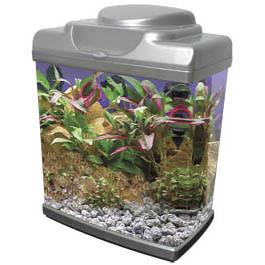 Black Aquarium Kit Mini 6 6 Litros Lamp And Filter 21 5x12 5x24 7cm