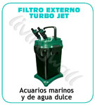 Aquarium external filter Turbo Jet 3388