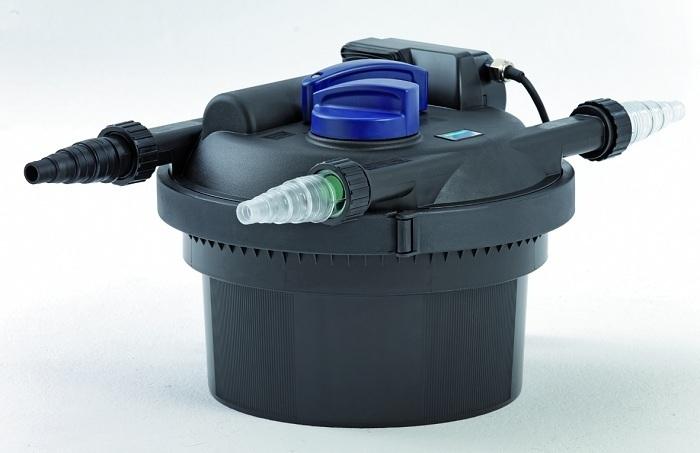 Oase pressure filter filtoclear 3000 pond uv 9w ponds up for Oase pond filter