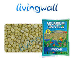 bag gravel yellow 2-3mm for aquariums 2.5 kg
