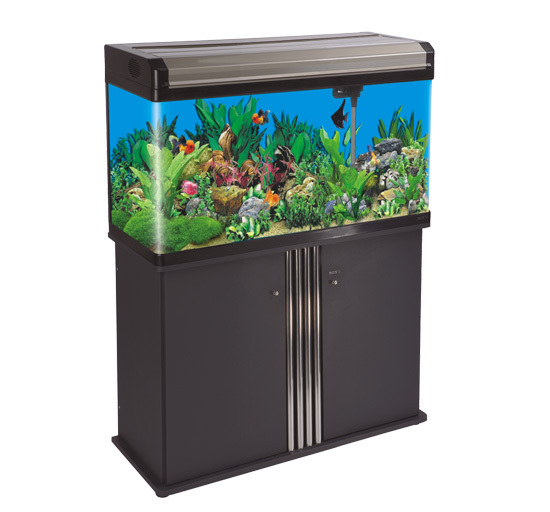 Aquarium kit by ea e 95 liters 80 x 30 x 54cm for Aquarium 80 litres