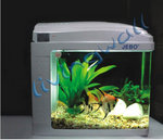 Jebo Aquarium Kit Nano QR128. Silver. Capacity 12 liters.
