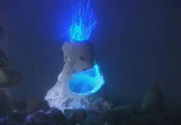 Decor diffuser aquael airlights volcano aerator for aquarium for Aquarium volcano decoration