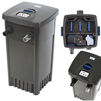 Pond filter oase filtomatic cws with self cleaning for Pond filter maintenance