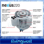 Pond filter Nexus Eazy 220