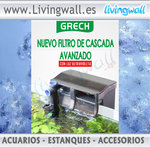 HANG ON BACK AQUARIUM FILTER with UV Grech  CBG-500