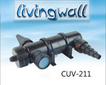 Pond Water clarifier system with -UV lamp 11w CUV-211