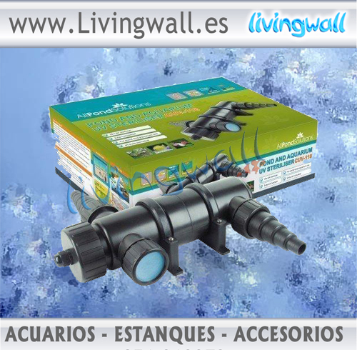 Www livingwall es amazing living wall planter with www for Agua verde estanque