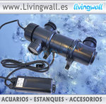 Water clarifier system with UV18w lamp CUV-118
