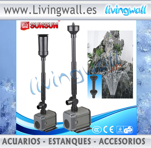 Sunsun hqb 2200 bomba de agua para estanques y acuarios for Estanques para agua precios