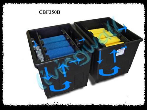 Filtro estanque sunsun cbf 350b 2 cajas estanques hasta for Filtros para estanques baratos