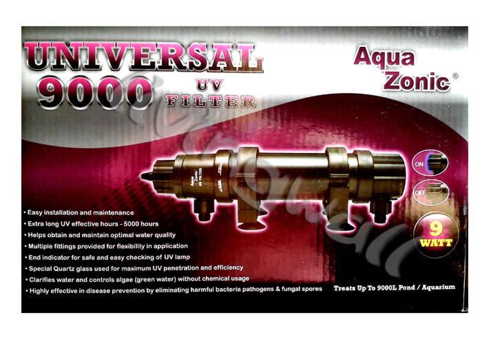 Aquazonic 18w Uv Sterilizer Green Algae Aquarium And Pond