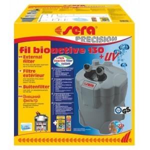 Aquarium filter sera fil bioactive 130 with uv lamp aquariums for Sera aquarium