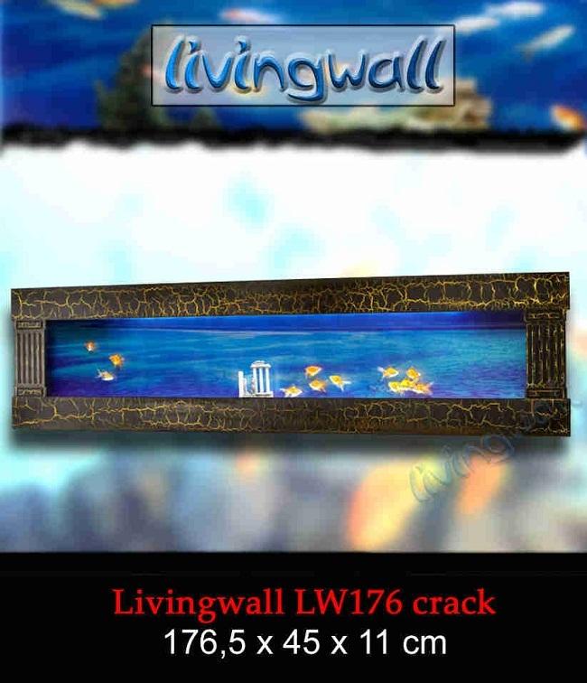 Acuario de dise o livingwall lw176 crack tendencia en decoracion Peceras de diseno