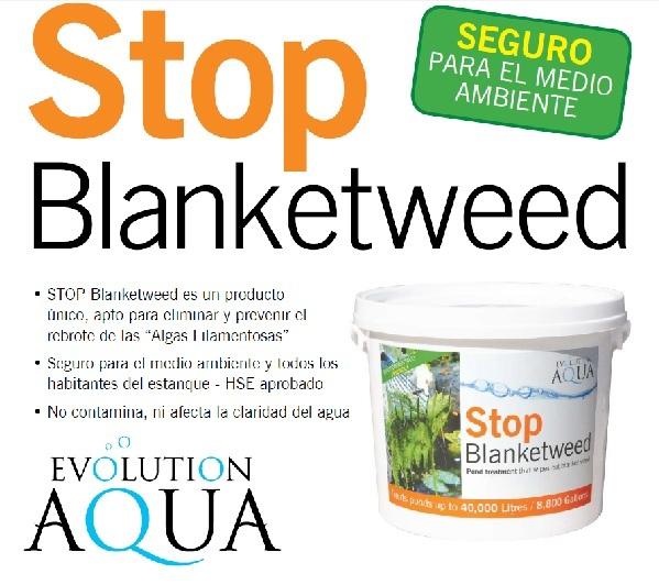 Stop blanketweed elimina algas estanque 2500g algas for Agua verde estanque