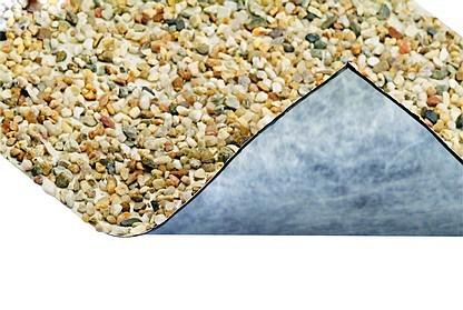 Lona Decorativa Piedra Oase Construccion De Estanques